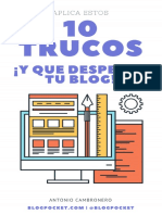 10 Trucos y Que Despegue Tu Blog