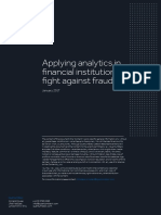 Applying analytics in financial institutions' fight against fraud