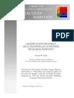 Brooke W. Smith. Significación Histórica de La Filosofía de La Historia de Jacques Maritain