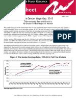 C413-Wage Gap 2013
