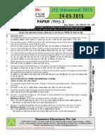 133 paper 2 advanced 2015