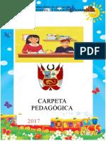 CARPETA PEDAGÓGICA 2