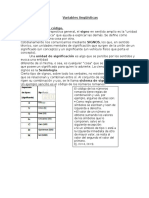 Variables Lingüísticas Electivo