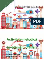 Design Activitate Metodica