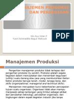 Manajemen Produksi Dan Persediaan. Ppt