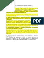 Balotario Legislacion Laboral Unidad 2 Examen