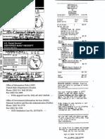 Brian D. Hill FOIA Appeal filings