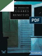 Lugares Remotos - Tom Spanbauer