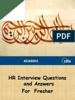 HR Interview