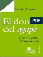 El Don Del Agapé. Jean-Daniel Causse.