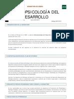 Neuropsicología del desarrollo UNED