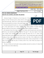 Anglais 3ASL-3ASLLE Bac Blanc N°02 1er sujet  .pdf