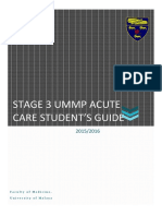 Students Guide ACUTE CARE