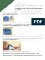 El Quilling o Técnica de Filigrana en Papel Es Un Arte Manual Que Consiste en Enrollar Tiras de Papel Para Crear Diseños Decorativos