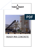 Project Report on R M C