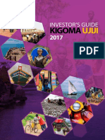 Investors Guide for Kigoma Ujiji 2017