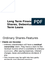 Long Term Sources of Funds