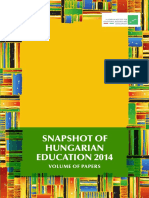 Snapshot of Hungarian education 2014
