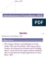 Chapter 3 - Introduction to Visual Studio .NET