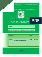 Guia de Laboratorio Estructuras y Sistemas Constructivos Mario D Mamani Leon