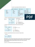 kimia (Hidrolisis)
