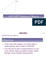 Chapter 9 - ASP.NET Intrinsic Objects
