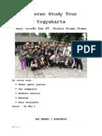 Laporan Study Tour Yogyakarta