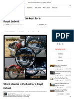 Which silencer is the best for a Royal Enfield – Solorider.pdf