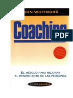 Coaching John Withmore