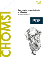 Versace, Stefano (2016) - Chomsky. Lenguaje, Conocimiento y Libertad