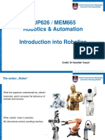 1. Introduction Into Robotics