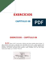Aula 01 de Exercícios Do Cap 08