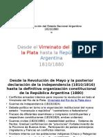 La Construcción Del Estado Nacional Argentino