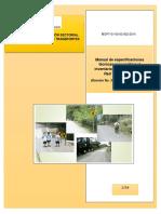 Manual de Especificaciones Tecnicas Inventario Vial
