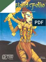 AD&D 1st - Fiend Folio
