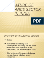 Overview of Insurance Sector