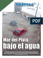 Suplemento Inundación en Mar del Plata