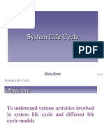 Chap 1 - System Life Cycle