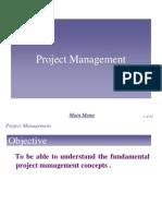 Chap 4 - Project Management