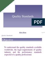 Chap 7 - Quality Standard
