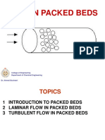 Flow in Packed Beds(1)