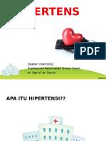 Penyuluhan Hipertensi Sarah Agri