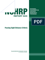 NCHRP 605 - Passing Sight Distance Criteria 2008
