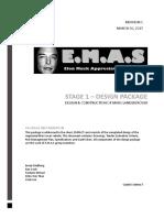 emas - efpc stage 1 design package