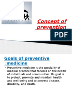 Concept of Prevention
