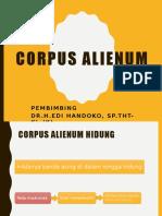 Corpus Alienum Edit