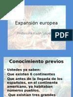 Expansión Del Mundo Europeo