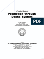 A Prectical Guide to Predicting Through Dasha System