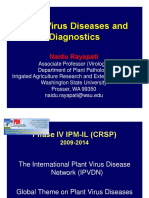 Plant Virus Diseases and Diagnostics
