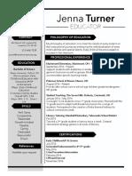 current resume 4 6 17